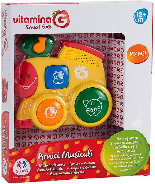 Globo Giocattoli 5169 _ vitamina g 2 Assortiti Try-Me Giocattolo Musicale