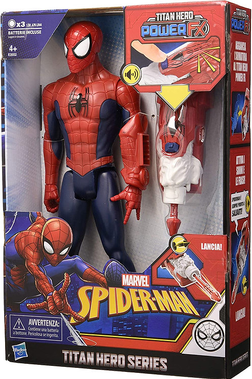 Hasbro Marvel Spider-Man E3552103 Titan Hero Power Fx Personaggio