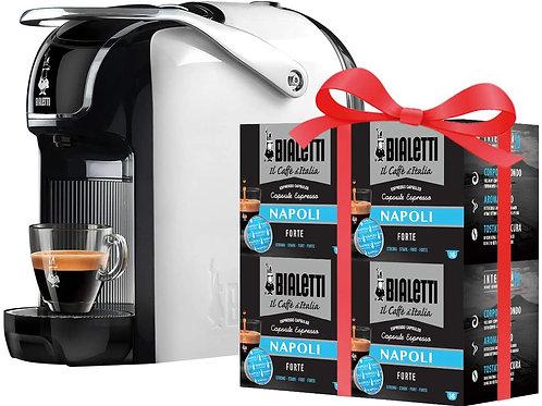 Bialetti Break - Macchina Caffè Espresso a Capsule in Alluminio