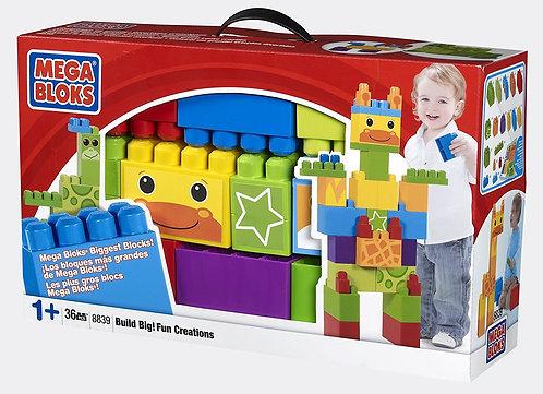 Mega Bloks Build Big Deluxe Creations Box