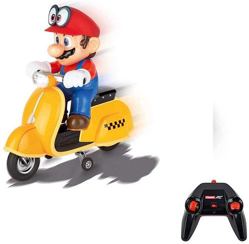 Carrera RC Super Mario Odyssey Scooter – Vespa radiocomandata