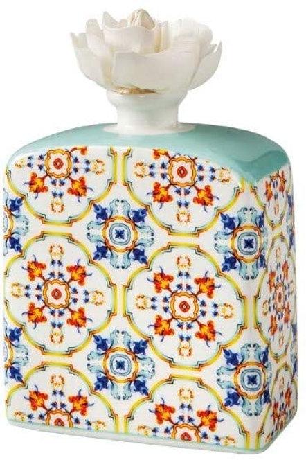 Brandani 53792 Diffusore Di Fragranza Medicea Fiamma Porcellana Con Fiore