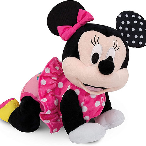 Clementoni- Disney Baby Minnie Gattona con Me, 17253