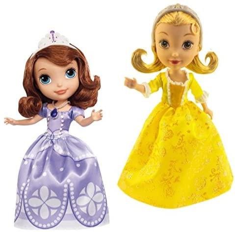 MATTEL Disney Sofia Basic 9'' Doll (Sogg.casuale) (2/2015) CMT54