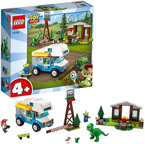 LEGO Juniors Toy Story 4 Vacanza in Camper, per Bambini, Multicolore, 10769