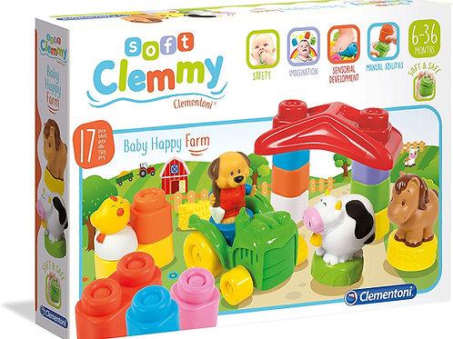 Clementoni 14954 Baby Clemmy Costruzioni Morbide - Happy Farm