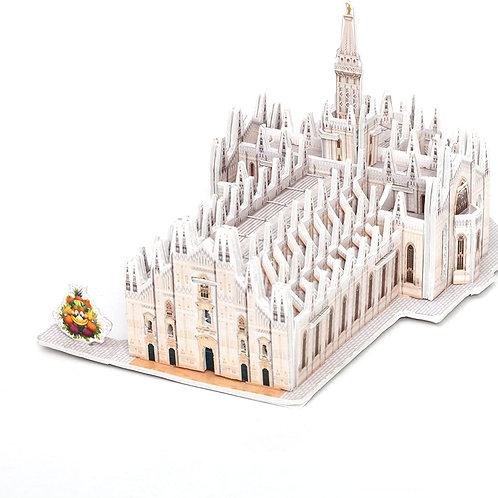 Giochi Preziosi - Expo 2015: Monumento Puzzle 3D da Assemblare, Duomo di Milano