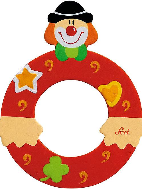 Trudi Sevi 81751 - Lettera O Clown, Colori Assortiti, 1 pezzo