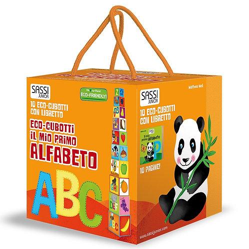 Il mio primo alfabeto. Eco-cubotti. Ediz. a colori. Con libretto (Italiano)