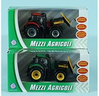 Globo giocattoli GLOBO34827 W 'toy Free Wheel trattore con secchio