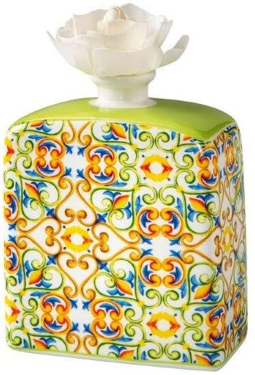 Brandani 53791 Diffusore Di Fragranza Medicea Giglio Porcellana Con Fiore
