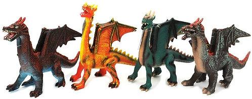 Globo Giocattoli GLOBO37276 38 cm W 'Toy Morbido Flying Dragon