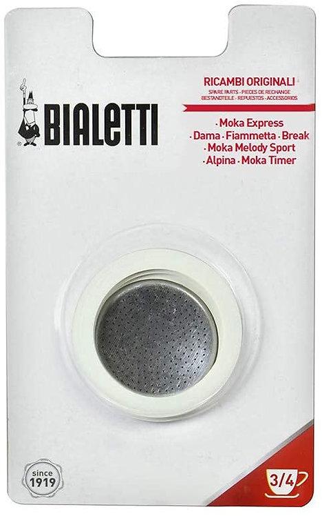 Bialetti Moka Express Break dama mini express ,Confezione 3 guarnizioni