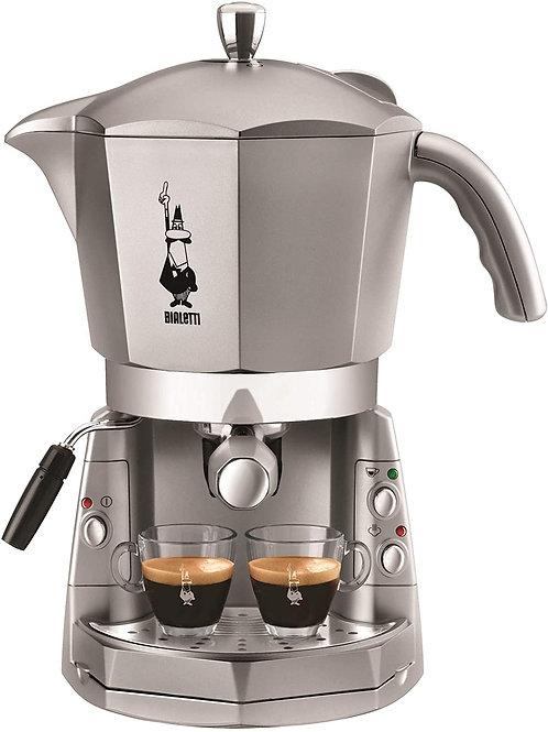 Bialetti Mokona Silver, Macchina Caffè Espresso, Sistema Aperto
