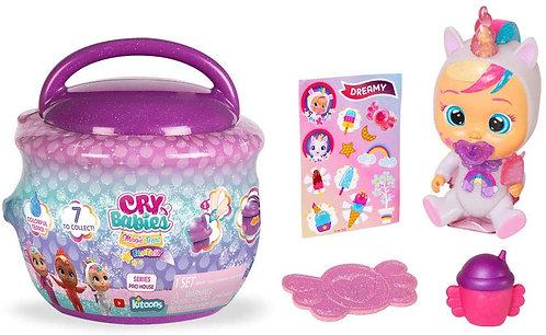 IMC Toys Cry Babies Magic Tears Casetta Ciuccio, Multicolore, 90309
