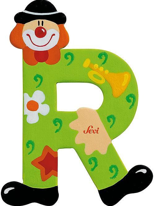 Trudi Sevi 81754 - Lettera R Clown, Colori Assortiti, 1 pezzo