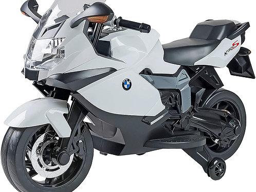 W'TOY- BMW K 1300S Moto elettrica, Colore Bianco, Item 283