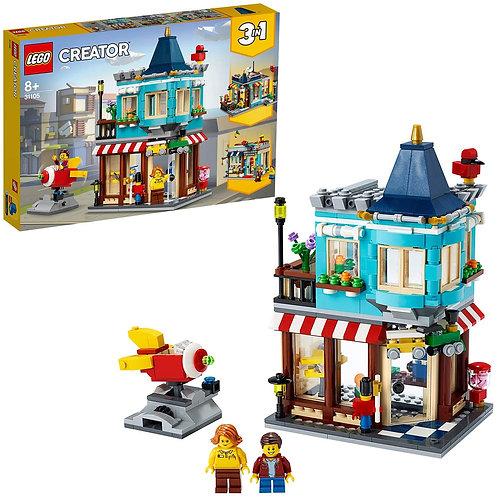 LEGO Creator In il Negozio di Giocattoli, Set di Costruzioni Ricco, 31105