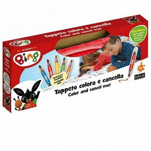 Nice Play Mat TO Color Bing, Tappeto colora e cancella