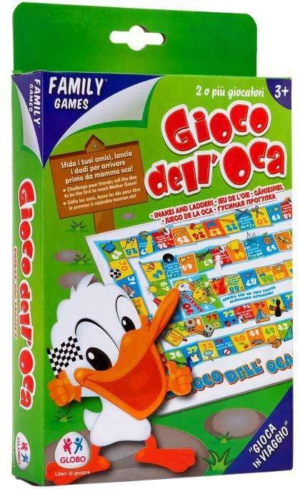 Globo Giocattoli 33940 Goose Family Game in Chiuso