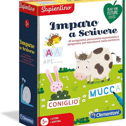 Clementoni-16142-Sapientino-Imparo a Scrivere, Gioco educativo, Multicolore
