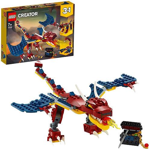 LEGO Creator 3 in 1 Set di Costruzioni Ricco di Dettagli per Costruire, 31102