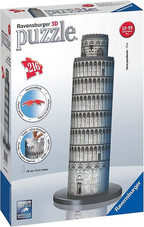 Ravensburger 12557 - Torre di Pisa, Puzzle 3D Building