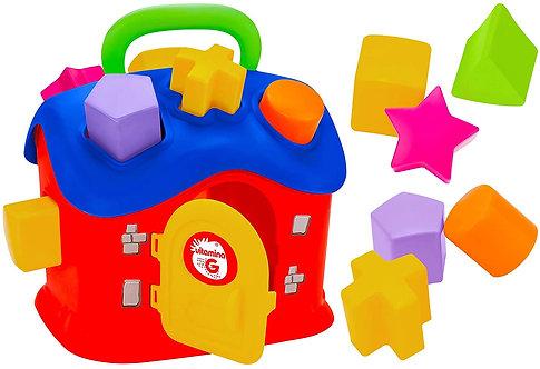 Globo Casetta Attivita' C/13 Formine Incastro, Multicolore, 8014966053798