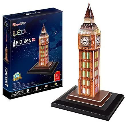 Cubic Fun- Puzzle 3D modellino souvenirled, L501h