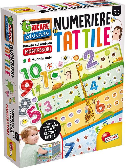 Liscianigiochi- Montessori Numeriere Tattile, 72453
