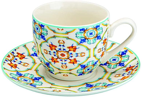 Brandani 53706 Tazzina Caffe Medicea Set 6 Pz New Bone China d 11,5x5h cm
