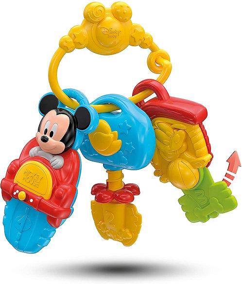 Clementoni- Disney Baby Chiavi Elettroniche, Multicolore, 14832
