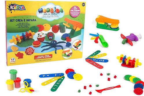 Globo Giocattoli Globo – 37572 Kidea Dough vasi con Die Piastra e Accessori