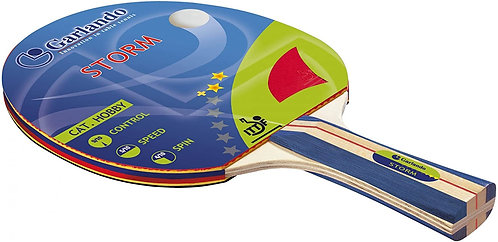 Garlando Storm Racchetta Ping Pong 2 Stelle