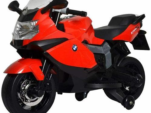 W'TOY- BMW K 1300S Moto elettrica, Colore Rosso, Item 283