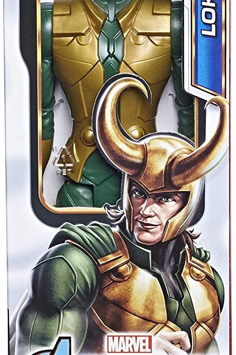 Avengers - Loki (Action Figure 30cm con Blaster Titan Hero Blast Gear)
