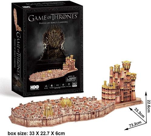 CubicFun Games of Thrones Puzzle of King's Landing