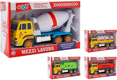 Globo- Camion a Frizione, Multicolore, GLO1308