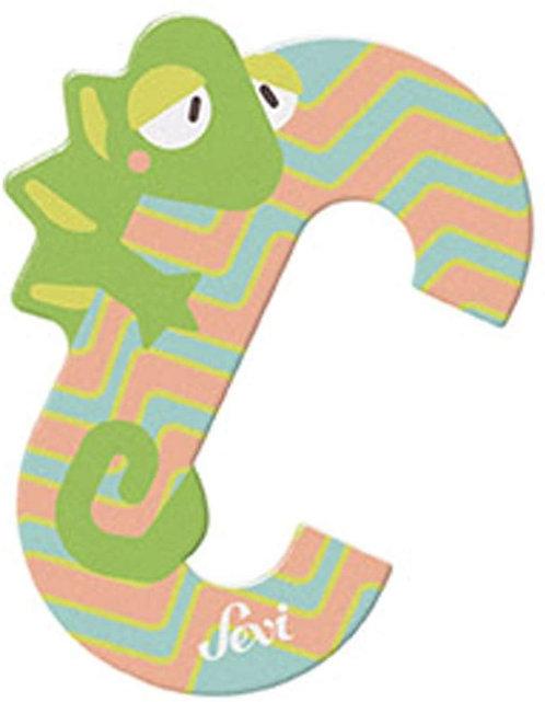 Sevi Trudi, Lettere Alfabeto, 10 cm (Lettera C)