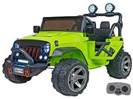 Spidko Globo Fuoristrada Jeep Elettrico Verde 12V R/C