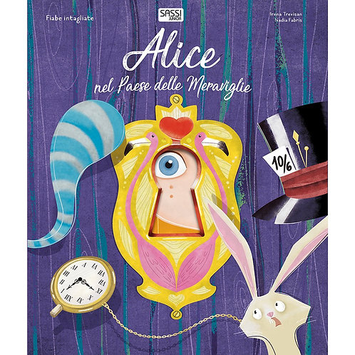 Alice nel paese delle meraviglie. Fiabe intagliate. Ediz. a colori (Italiano)