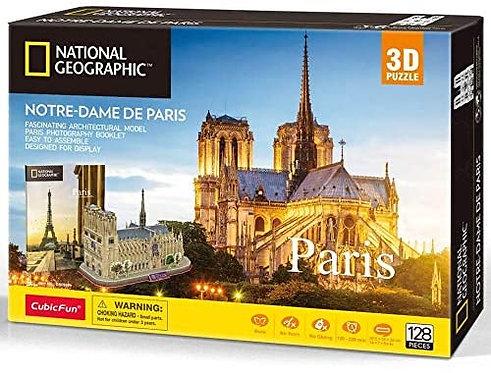 CubicFun Puzzle 3D della Nostra Dame di Parigi (Tachan DS0986h)