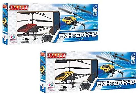 Globo Giocattoli 37462 2 Colore Spidko Elicottero con Luce