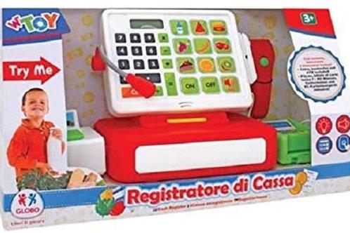 Globo Registratore Cassa B/O C/Calcol/Scanner/Acc Try-Me, Multicolore, 801496639