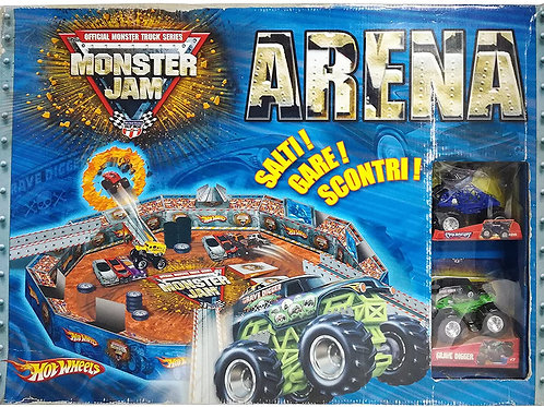 Mattel Hot Wheels Moster Jam Arena RARO