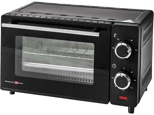Brandani 52203 Fornetto Scaldavivande Techno 10LT Inox/Vetro