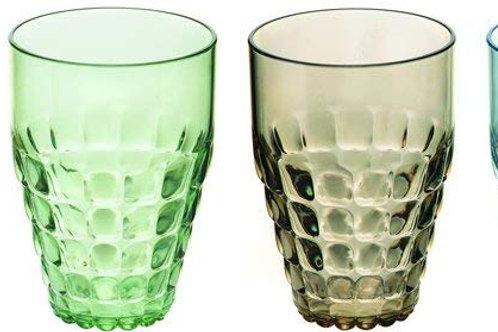 Fratelli Guzzini Set 6 Bicchieri Alti Tiffany