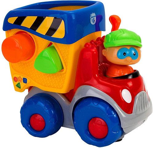 Globo Camioncino Movimento Mistero con Forme B/O L/S, Multicolore, 8014966051107