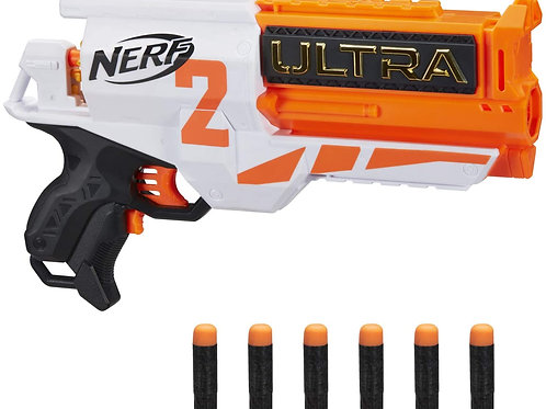 Hasbro Nerf Ultra - Two Blaster Motorizzato, Retrocarica Rapida, 6 Dardi Nerf