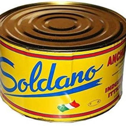 ACCIUGHE SALATE DA 5kg ALICI SOLDANO prima scelta, A
